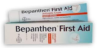 BEPANTHEN FIRST AID 30G บีแพนเธน เฟิร์สเอด ครีมฆ่าเชื้อและสมานผิว