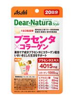 Asahi Dear Natura Placenta + collagen อาหารเสริมรกหมู+คอลลาเจนผสมผสานวิตามิน C, B1, B2, B6 ช่วยกระชับผิวสำหรับผู้ที่ต้องการองค์ประกอบในการดูแลความงามของผิวกลับมามีชีวิตชีวาเปล่งปลั่งกว่าวัยอีกครั้งค่ะ