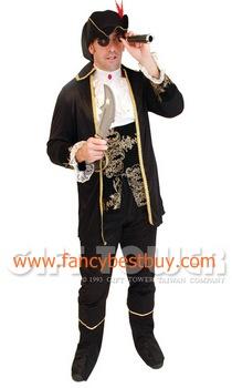 ชุดแฟนซีผู้ชาย ชุดกัปตันฮูก Captain Hook ขนาดฟรีไซด์