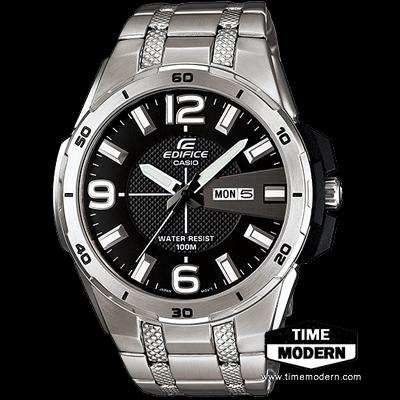 นาฬิกา คาสิโอ Casio Edifice 3-Hand Analog รุ่น EFR-104D-1AVDF
