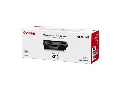 Canon Cartridge-303 ตลับหมึกโทนเนอร์ สีดำ Black Toner Original Cartridge