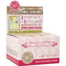 ดังมากในญี่ปุ่น!!!!Bust Love White ครีมนวดเพิ่มขนาดทรวงอกผสมVitamin C ช่วยเพิ่มขนาดหน้าอกและทำให้หน้าอกขาวกระจ่างออร่าพร้อมด้วยน้ำมันจากสารสกัดกุหลาบบัลแกเรียทำให้เนื้อครีมหอมละมุนทุกครั้งที่ได้ใช้