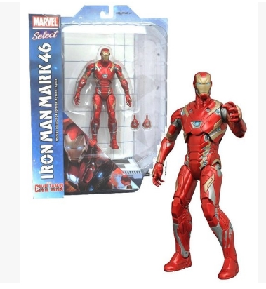 Marvel Select Civil War Movie Iron Man Action Figure