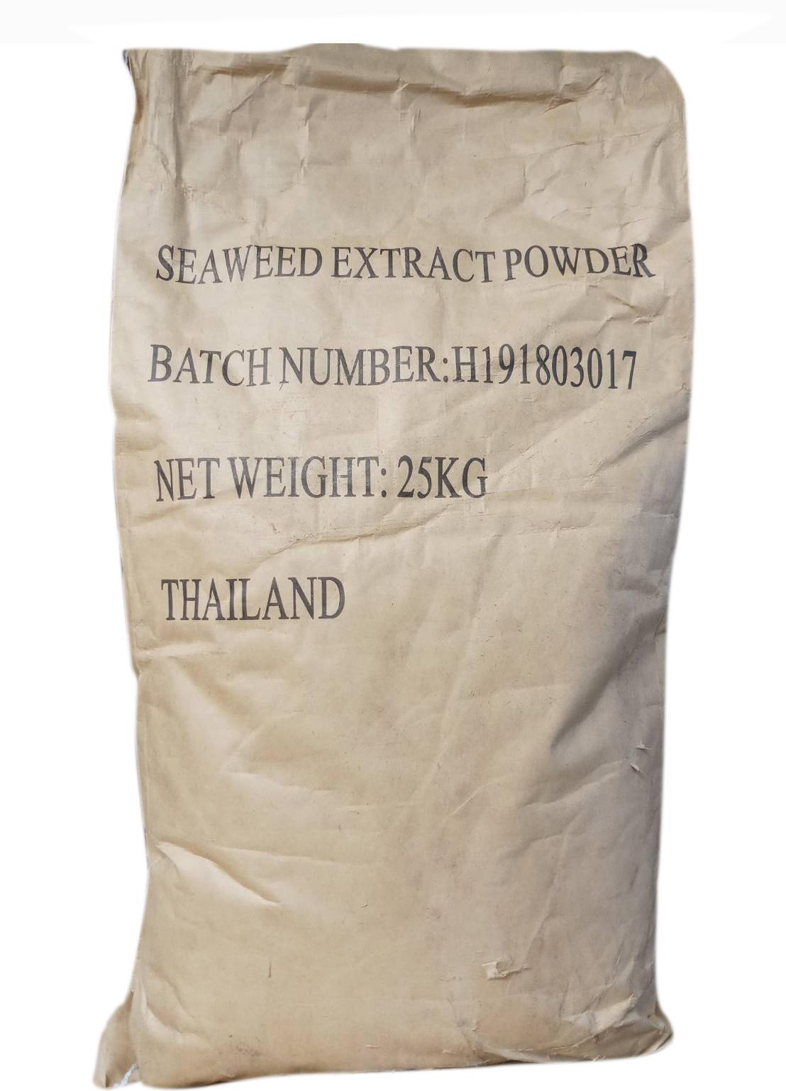 สาหร่ายผง Seaweed Extract ชนิดผง (กระสอบ 25 Kg )