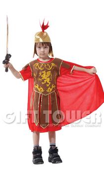 ชุดเจ้าชายแฟนซีเด็ก ชุดนักรบโรมัน Roman Worrior มีขนาด XL