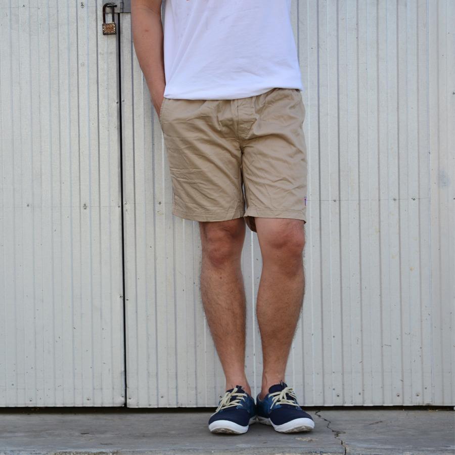 กางเกงขาสั้น BFactory (สีครีม)