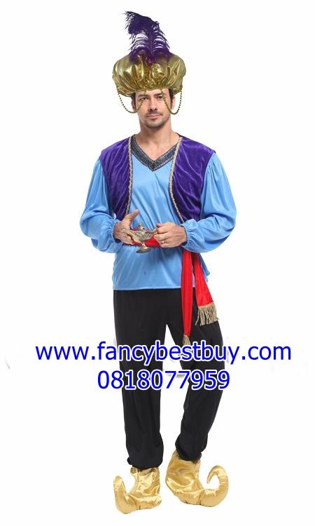 ชุดอาลาดิน Aladdin สำหรับชุดแฟนซีผู้ชาย ขนาดฟรีไซด์