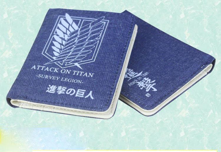 กระเป๋าสตางค์ผ่าพิภพไททัน Attack on Titan(รุ่น 2016)