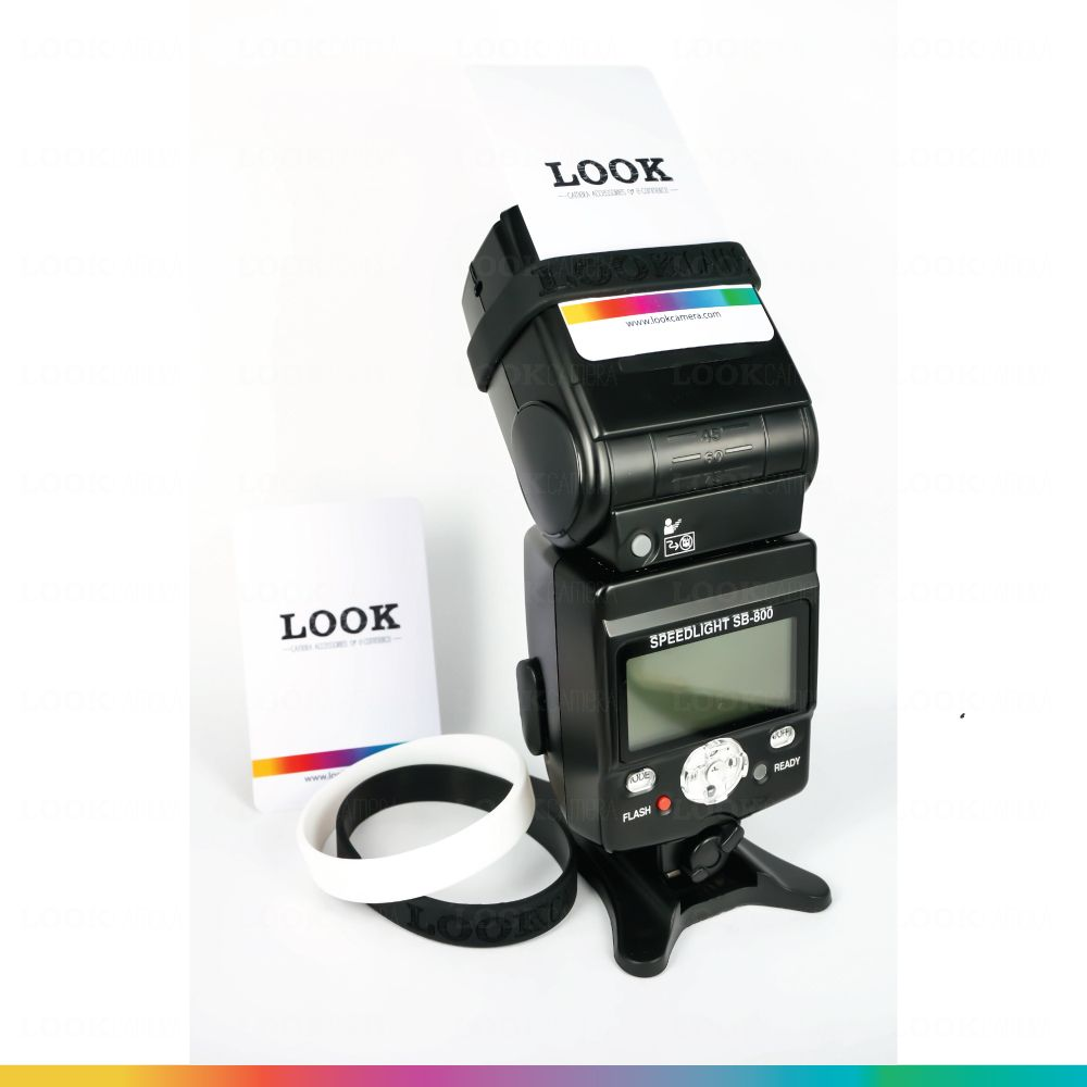 Lookcamera Flash Bounce Card แผ่นสะท้อนแสงแฟลช