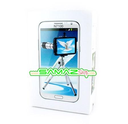 เลนส์เสริม เทเล ซูม 12x สำหรับ Samsung Galaxy Note2พร้อมเคส ขาตั้ง มือถือ Len zoom 12x ใช้งานง่ายพกพาสะดวกสุดๆ