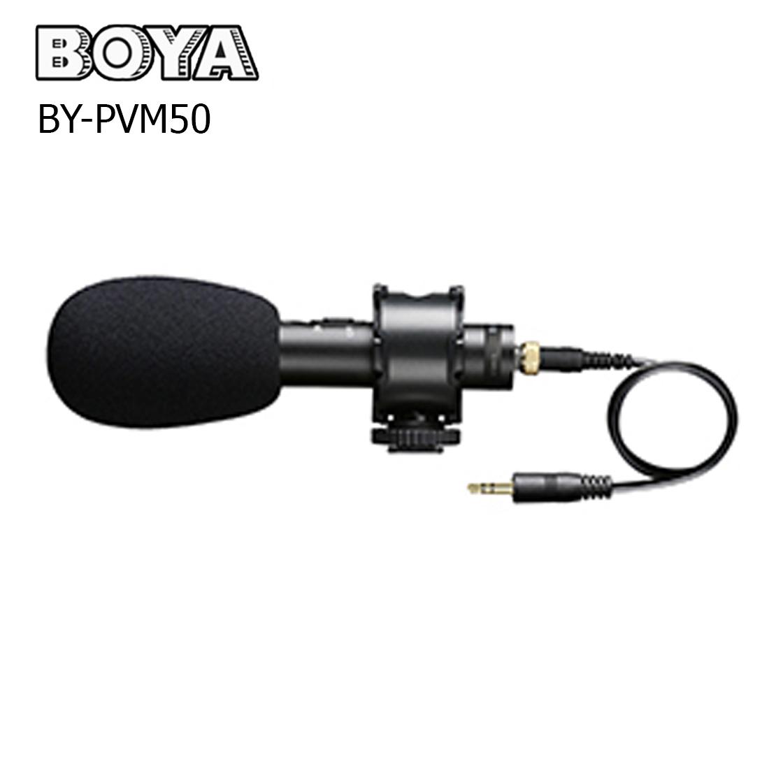 BOYA BY-PVM50 Stereo X/Y Condenser Microphone