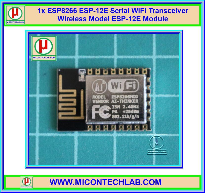1x ESP8266 ESP-12-E Serial WIFI Transceiver Wireless Model ESP-12E Module