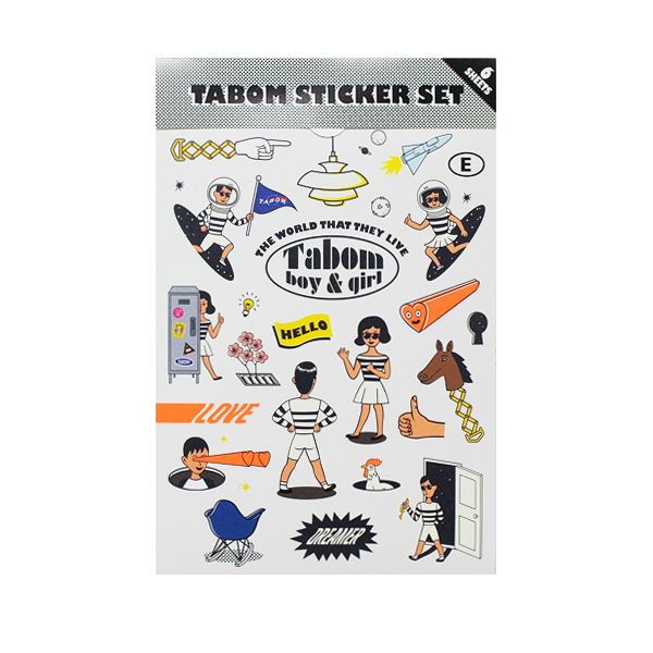 TABOM STICKER SET