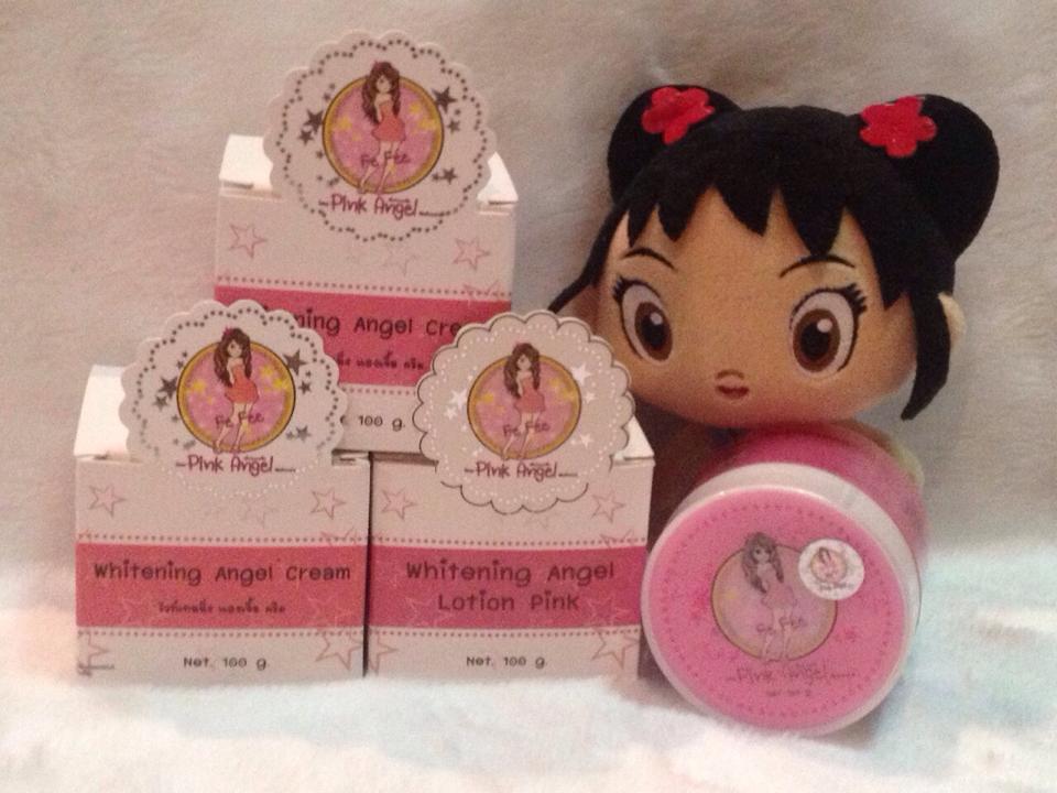 Whitening Angel Cream 100กรัม ครีมเทพพิ้งแองเจิ้ล Pink angel By Fefee ของแท้ ราคาถูก ปลีก/ส่ง โทร 089-778-7338-088-222-4622 เอจ