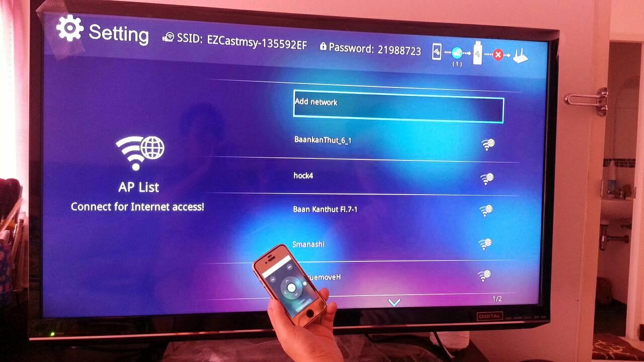 วิธีการติดตั้งและใช้งาน EZCast wifi Dongle M2 ตัวแท้