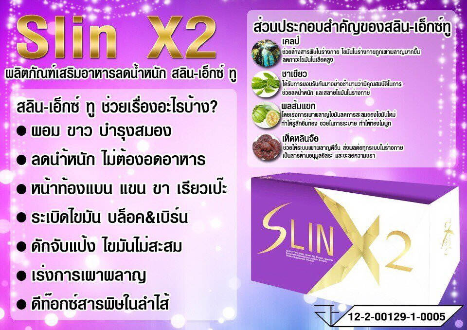 Slin X2 สลิน เอ็กซ์ทู