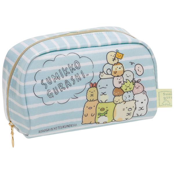 กระเป๋าใส่ของ Sumikko Gurashi ลายทาง